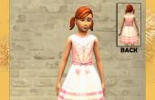 Robe rose fillette