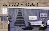 Set Murs et sols Noël Naturel - 3
