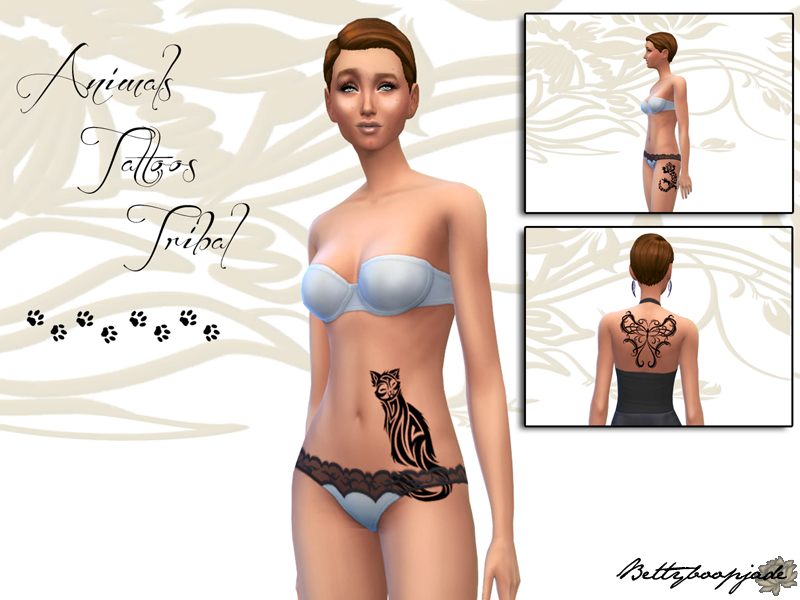 Animals Tattoo Tribal - Collection compl�te