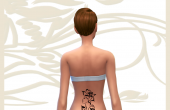 Mystic Tribal Tattoo - Femme-rose