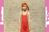 Enfants - Robe rouge