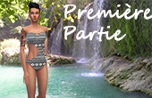 Collection maillot de bain, premi�re partie : Motifs azt�ques