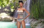 Sims 4 Swinsweat Maillot de bain Curve 2