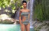 Sims 4 Swinsweat Maillot de bain Curve 4