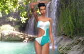 Sims 4 Swinsweat Maillot de bain Curve 5