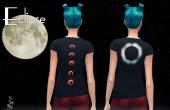 eclipse tshirt femme