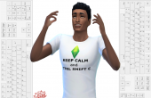 sims 4 recoloration t shirt geek keep calm