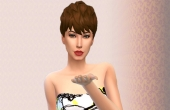 sims 4 conversion coiffure femme