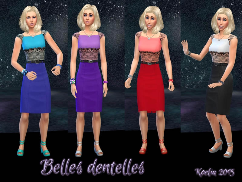 Collection Belles dentelles