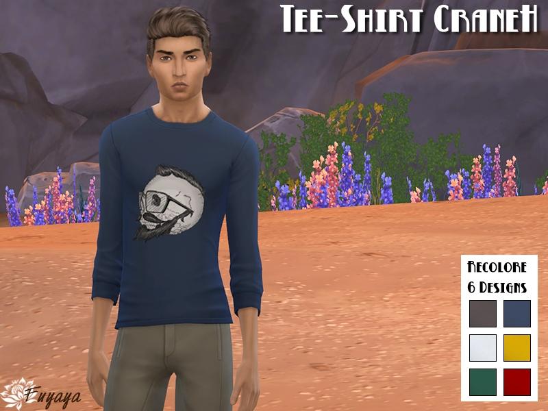 Tee-Shirt CraneH
