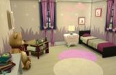 L'oustallette chambre rose premier etage