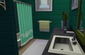 L'amaryllis salle de bain