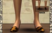 Imprimé Léopard Chaussures