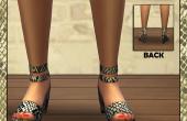 Imprimé Serpent Chaussures