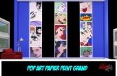 Pop Art Couleur panneaux séparés