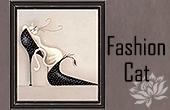 Collection de Tableaux Fashion Cat