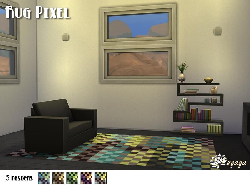 Tapis Pixel