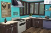 Premier étage : cuisine