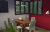 Premier étage : salle à manger