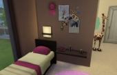 Deuxième étage :  chambre des enfants