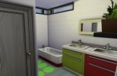 Deuxième étage : salle de bain des enfants