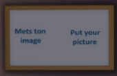 Met ton image / Put your picture