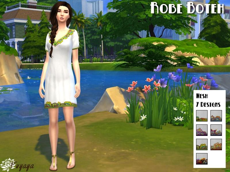Robe Boteh - Style Indy en 7 designs