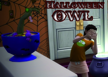 Hiboux d'Halloween