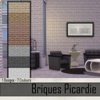 Briques Picardie  Beige