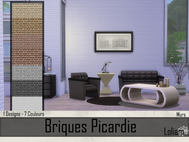 Briques Picardie Blanc