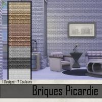 Briques Picardie Gris Clair