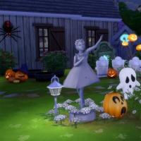 Jardin avant de nuit droite