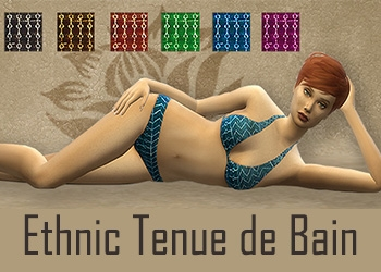 Set Ethnic Tenue de bain