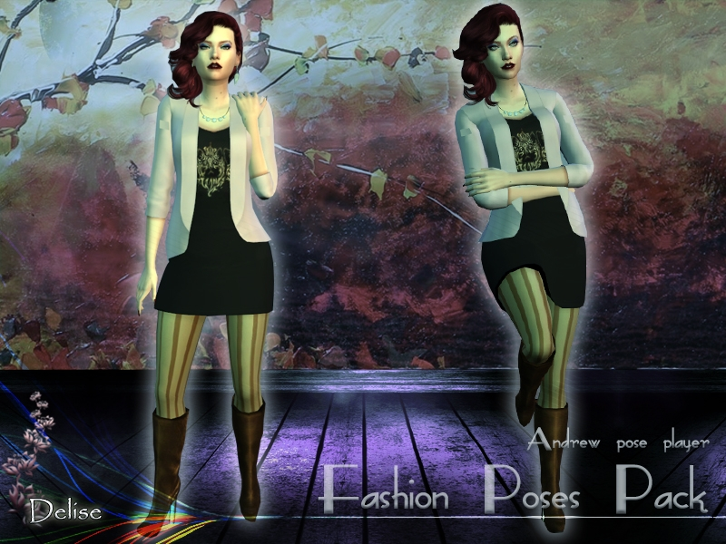 poses fashion player 1