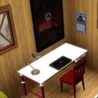Chambre pour ado - espace bureau