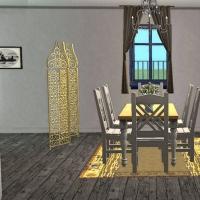 Pi�ce de vie salle � manger