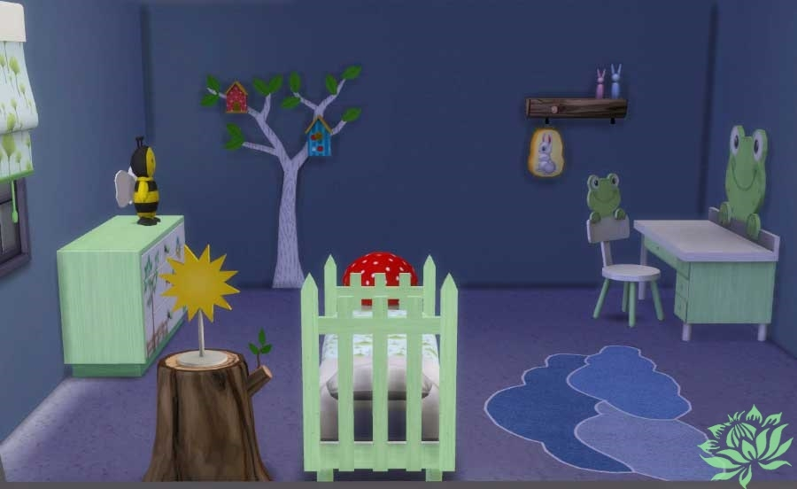 Sims 4 set meuble chambre nature in dit for Sims 4 meuble a telecharger
