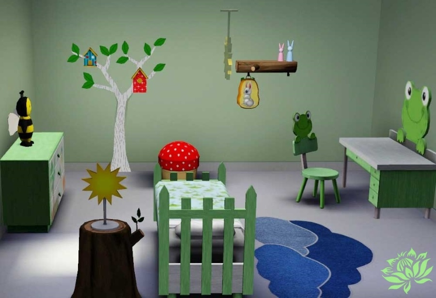 Sims 3 Set Meuble Chambre Nature In 233 Dit