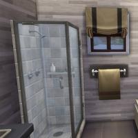 Petit Chalet du Lac salle de bain  2