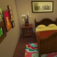 L'hacienda chambre