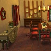 L'hacienda salle à manger