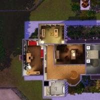 Haras Normand Plan de l'�tage de l'habitation