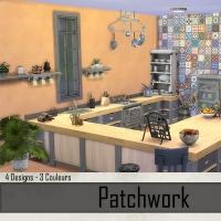 Murs Abricot et Patchwork 2