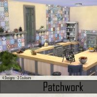 Murs Sable et Patchwork