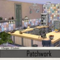 Murs Taupe et Patchwork 2
