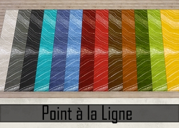 "Collection de Tapis ""Point à la Ligne"""