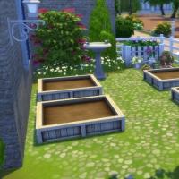 Mas Provencal Sims 4  Coin jardinage