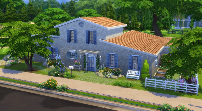 Mas proven al sims 4 telechargement cc maison for Sims 4 meuble a telecharger