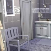 Mas proven al sims 4 telechargement cc maison for Salle de bain provencale