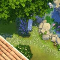 Mas Provencal Sims 4 Bassin naturel